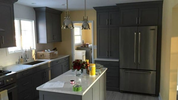 Kitchen remodel Feb 2015
