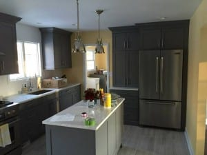 Kitchen remodel Feb 2015